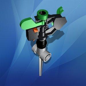 impact sprinkler 3d model