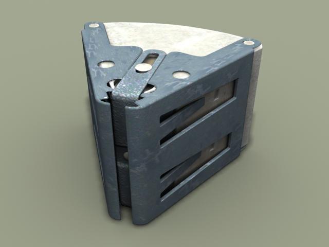 3d m43a1 anti-personnel landmine