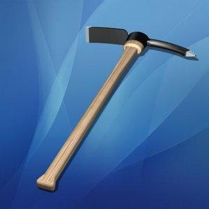 mattock tool 3d model