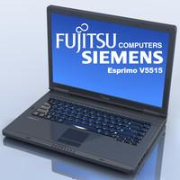Notebook.FUJITSU-SIEMENS Esprimo V5515