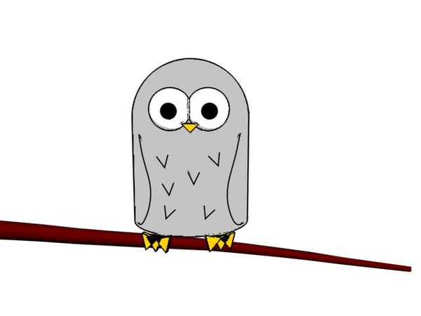 maya cartoon owl