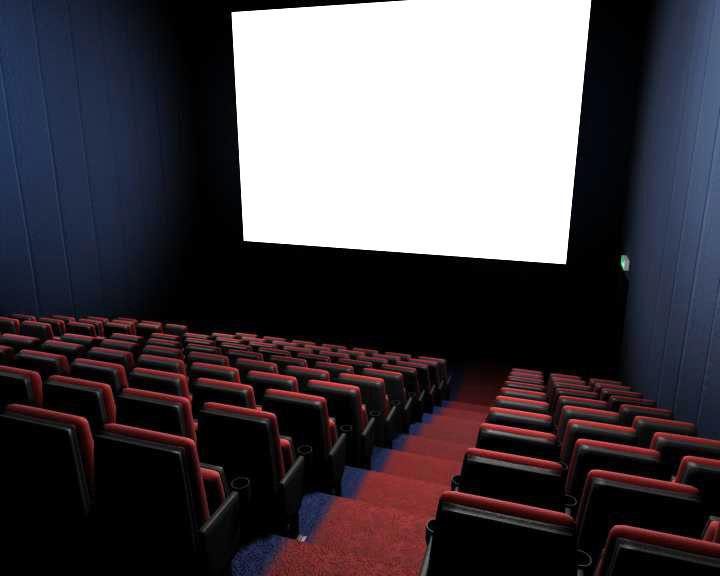 3dsmax movie theatre