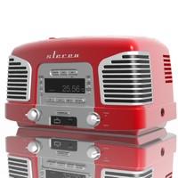 retro stereo 3d max