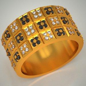 3d 3ds - gold jewels