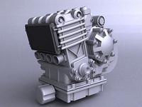 SPORT BIKE IN-LINE 4 CYLINDER ENGINE