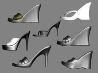 sexy heels 3d model