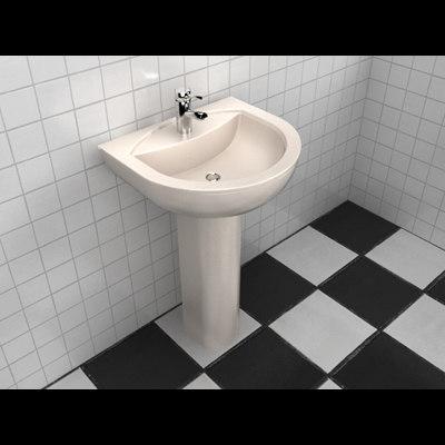 sink 3d max