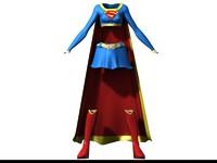 Super Girl clothes 00.max
