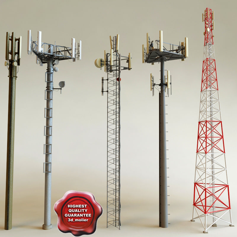 3ds max telecommunication towers
