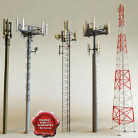 Telecommunication Towers collection