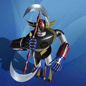 toy robot warrior 3d model