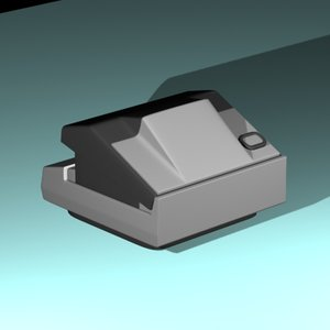 old polaroid camera max