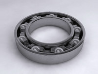3d model of ballbearing balls