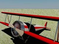 plane 3d max