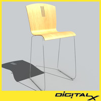 max cafe bar height stool