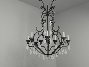 3d classic chandelier lighting