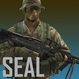 seal jungle version mk 3d model