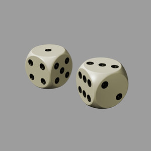 maya dice rounded