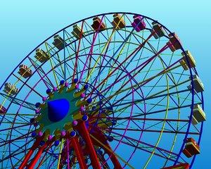 ferris wheel dwg