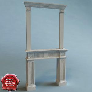 lwo fireplace modelled ease