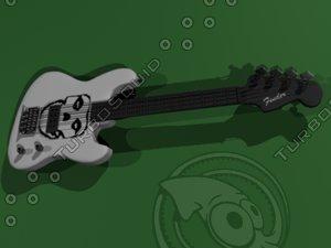 3d model of misfits bass