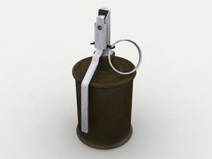 3ds max rg-42 hand grenade