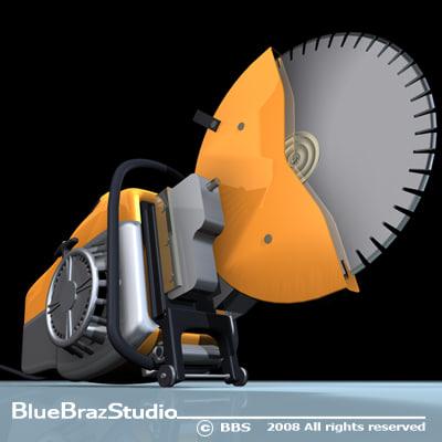 3dsmax cut saw