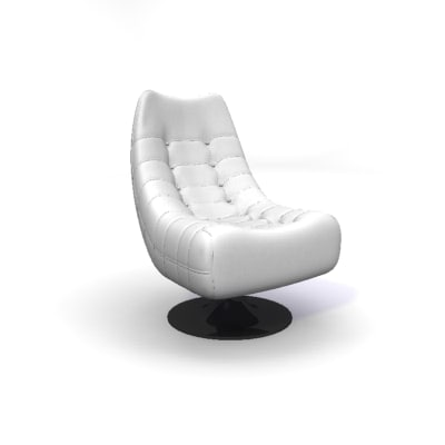 angel chair 3d model