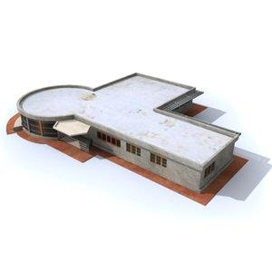 3d model industrial office