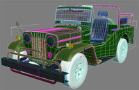 3d model of jeep willy
