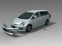 Toyota Wish 3D models