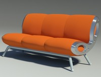 3d gluon sofa 3 pillow
