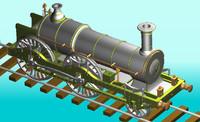 1866 british express 3d model