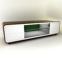 modern furniture tv cabinet 3d model