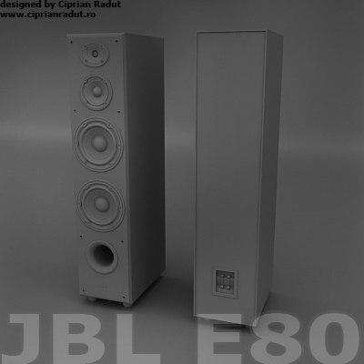 maya jbl e80