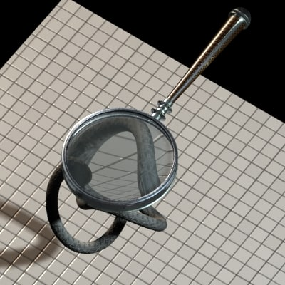 3dsmax magnifying glass