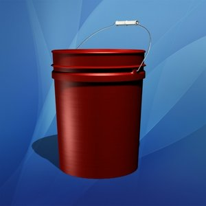 5 gallon bucket 3d max