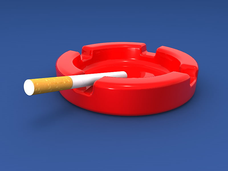 solidworks ash tray 3d model