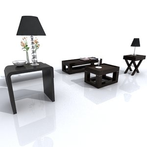 small tables 3d 3ds