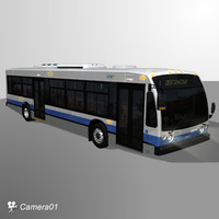 nova lfs city bus 3ds