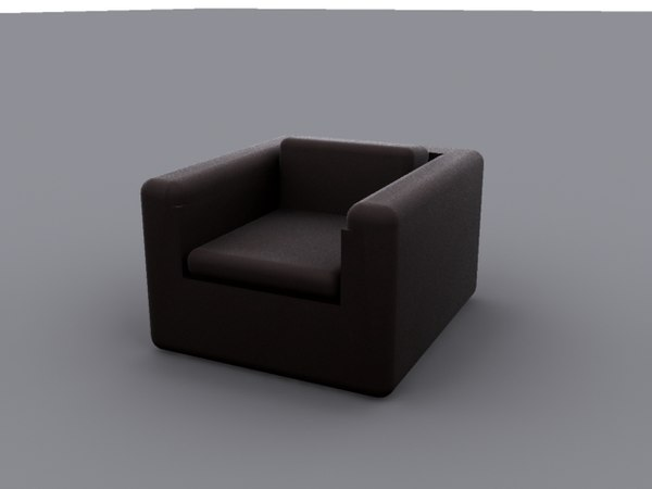 simple chair 3ds