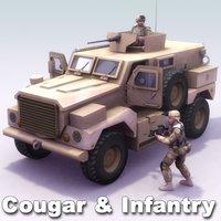 Cougar & USMC Infantry