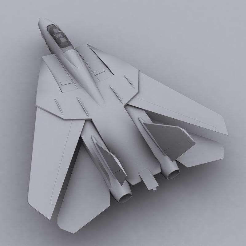 3d model usa f14