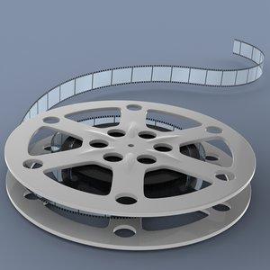 film reel 3d x
