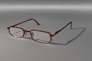 eye glasses 3d model