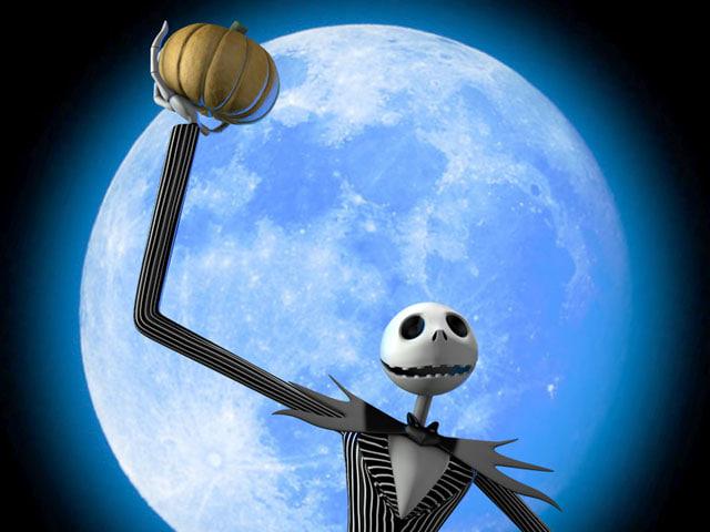jack skellington pumpkin - c4d
