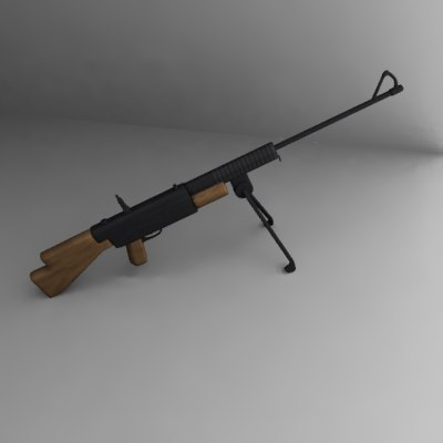3d johnson m1941 light machine gun