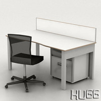 Knoll Crinion Workstation_VRAY