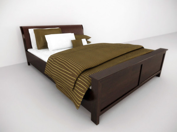 luxury bed 3ds