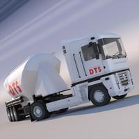 renault magnum truck silo max